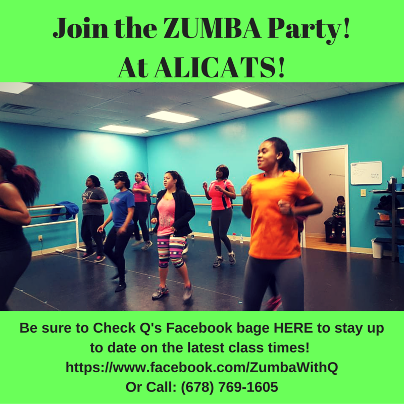 Join the ZUMBA Party!